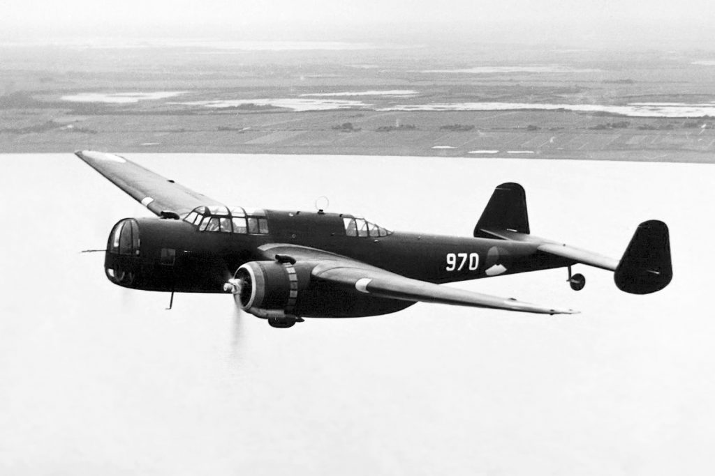 Fokker T.IX in flight