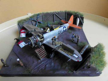 "Republic P-47D-28-RA Thunderbolt ""Helen Jo"""