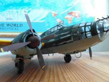 Mitsubishi G4M2E Type 1 Betty with MXY7 Okha model 11